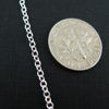 Sterling Silver Chain - 2mm Strong Cable Oval Chain - Strong Chain - Unfinished Bulk Chain (sold per foot)