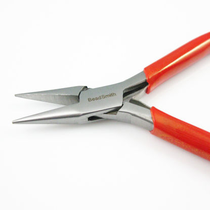 Beadsmith Chain Nose Pliers with Spring