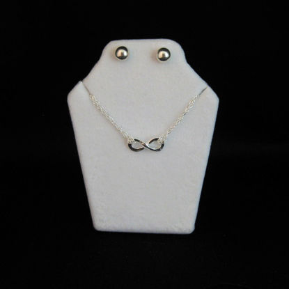 Extra Small White Jewelry Display