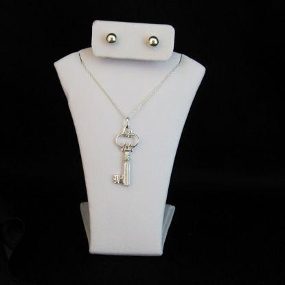 Small White Jewelry Display