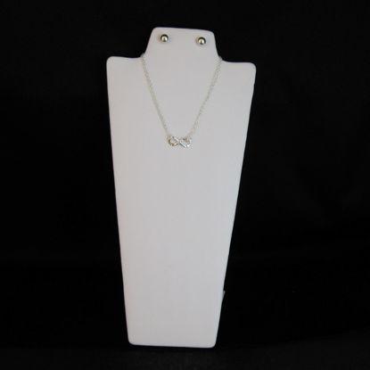 Medium White Jewelry Display