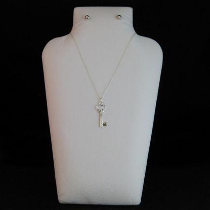 Large White Jewelry Display