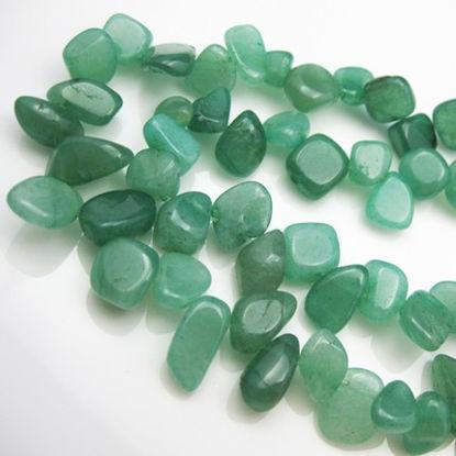 Green Nature Aventurine-Irregular Shape (sold per strand)