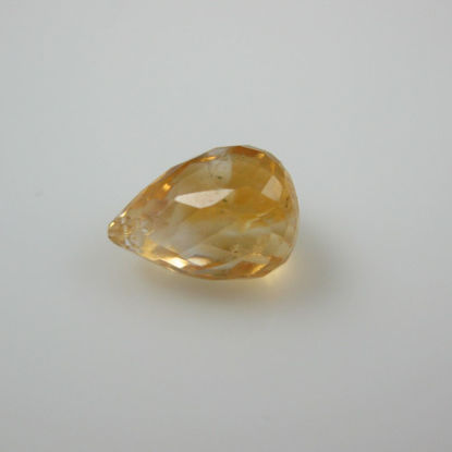 Gemstone Bead Citrine Quartz ( 2 pieces)