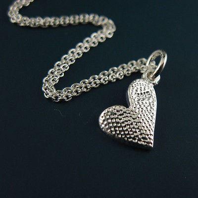 925 Sterling Silver Jewelry Set- Sweet Little Heart