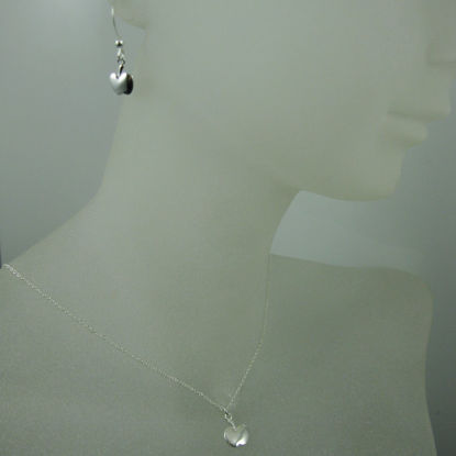 925 Sterling Silver Jewelry Set- Tiny Apple