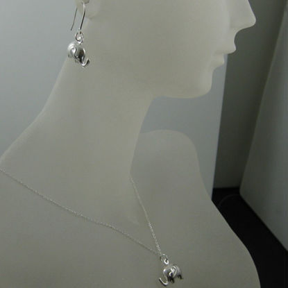 925 Sterling Silver Jewelry Set- Elephant
