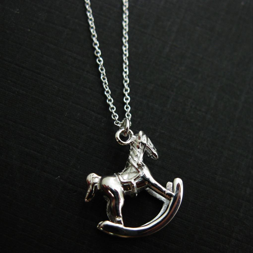 925 Sterling Silver Jewelry Set-Rockinghorse Charm