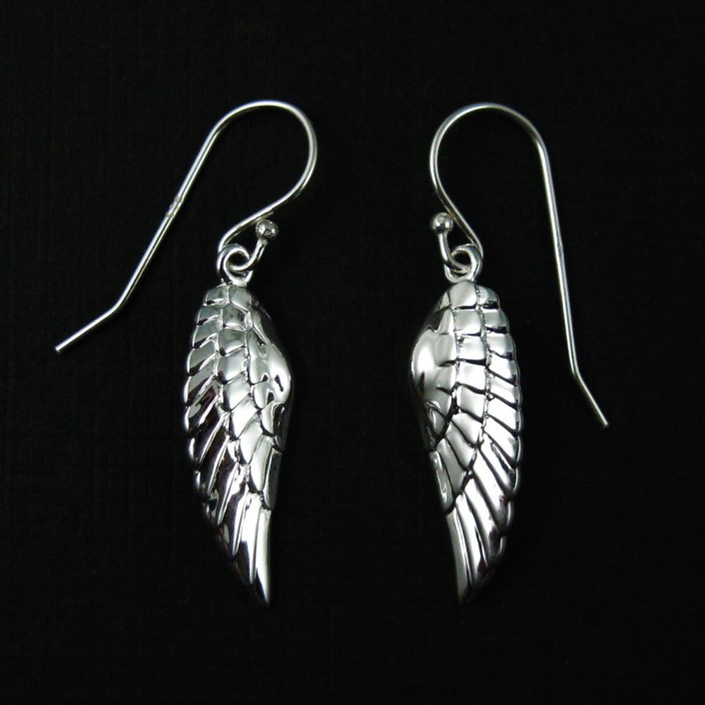 925 Sterling Silver Jewelry Set-Left Wing Pendant
