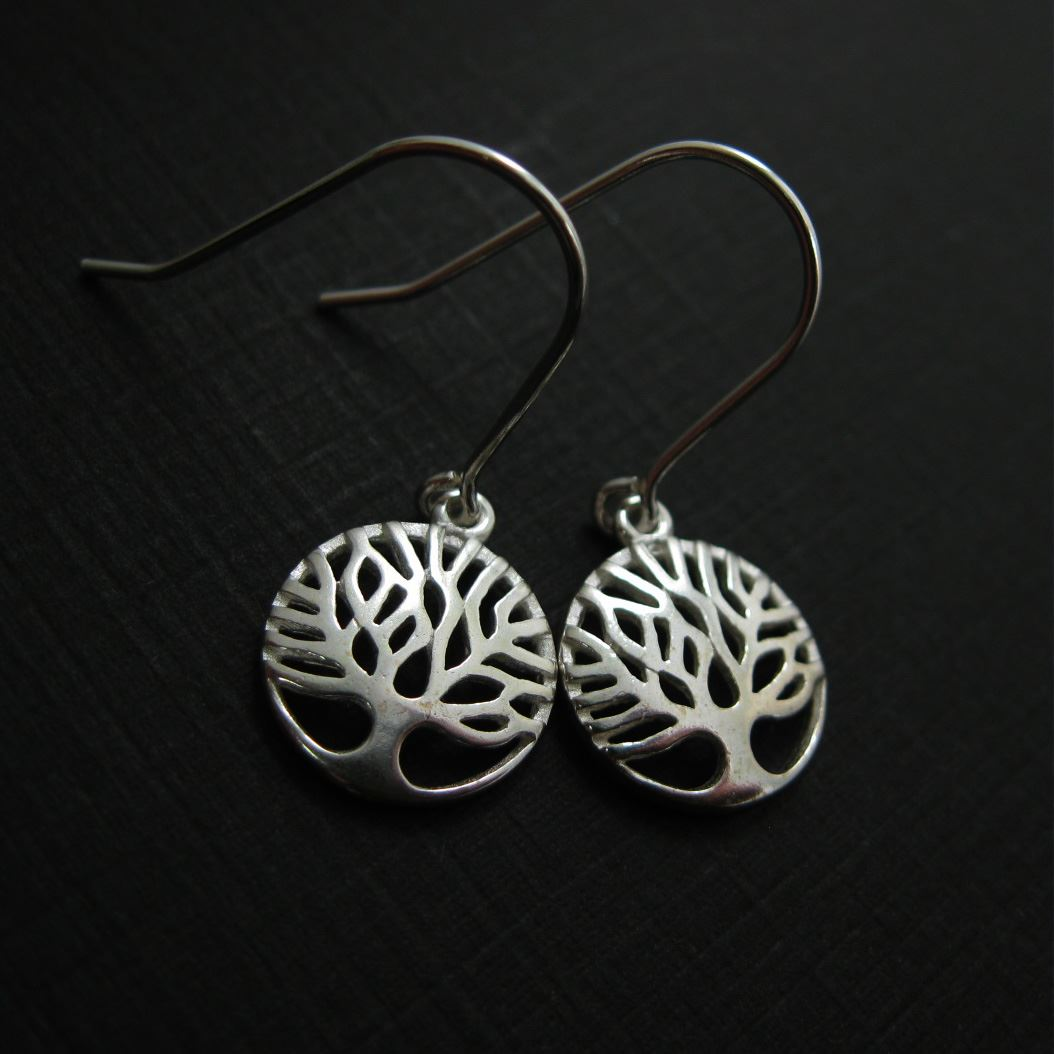 925 Sterling Silver Jewelry Set-Tree of Life