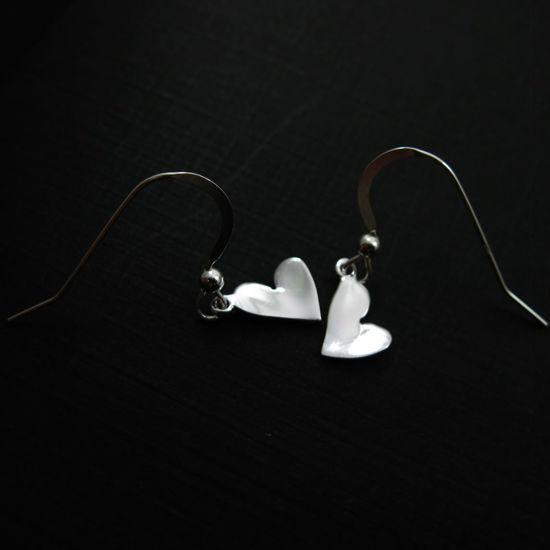 925 Sterling Silver Earrings- Sweet Little Heart