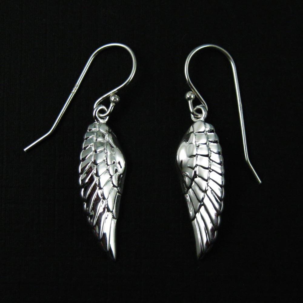 925 Sterling Silver Earrings- Wings