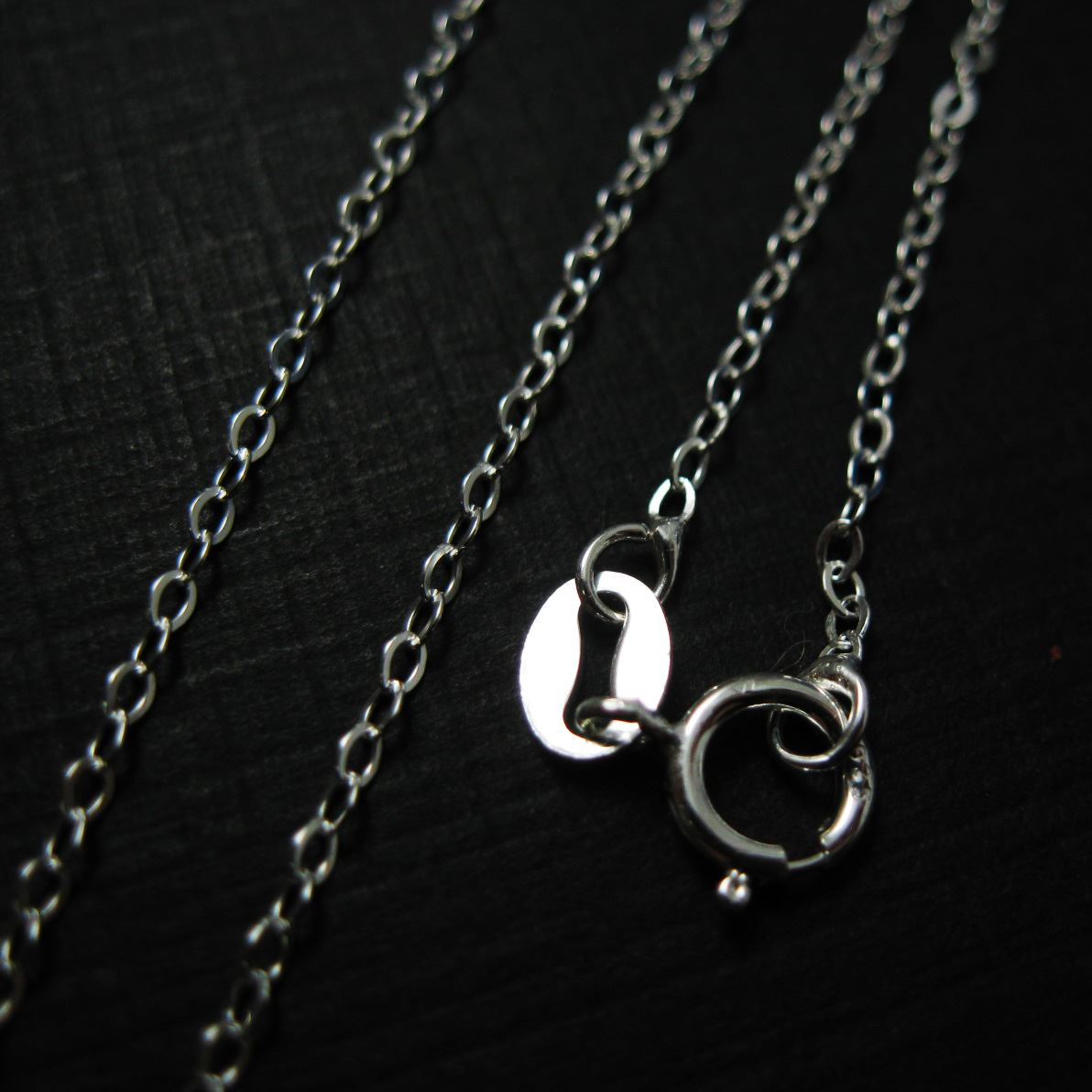 Sterling Silver Necklace Chain - 1.8mm Cable Flat Oval Necklace - Long Necklace - Extra Long Necklace - All Sizes