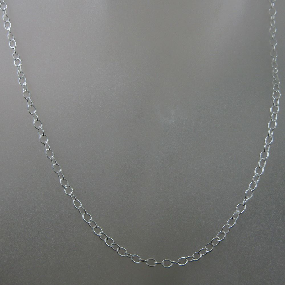 Sterling Silver Chain Necklace - Silver Bracelet, Anklet - 4mm Cable Chain Necklace - 4mm Strong Cable Chain- All Sizes