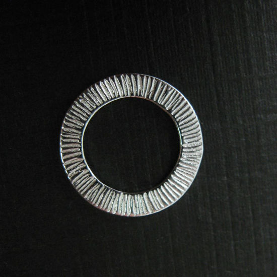 925 Sterling Silver Textured Charm - Circle Pendant- 14mm ( 2 pieces )