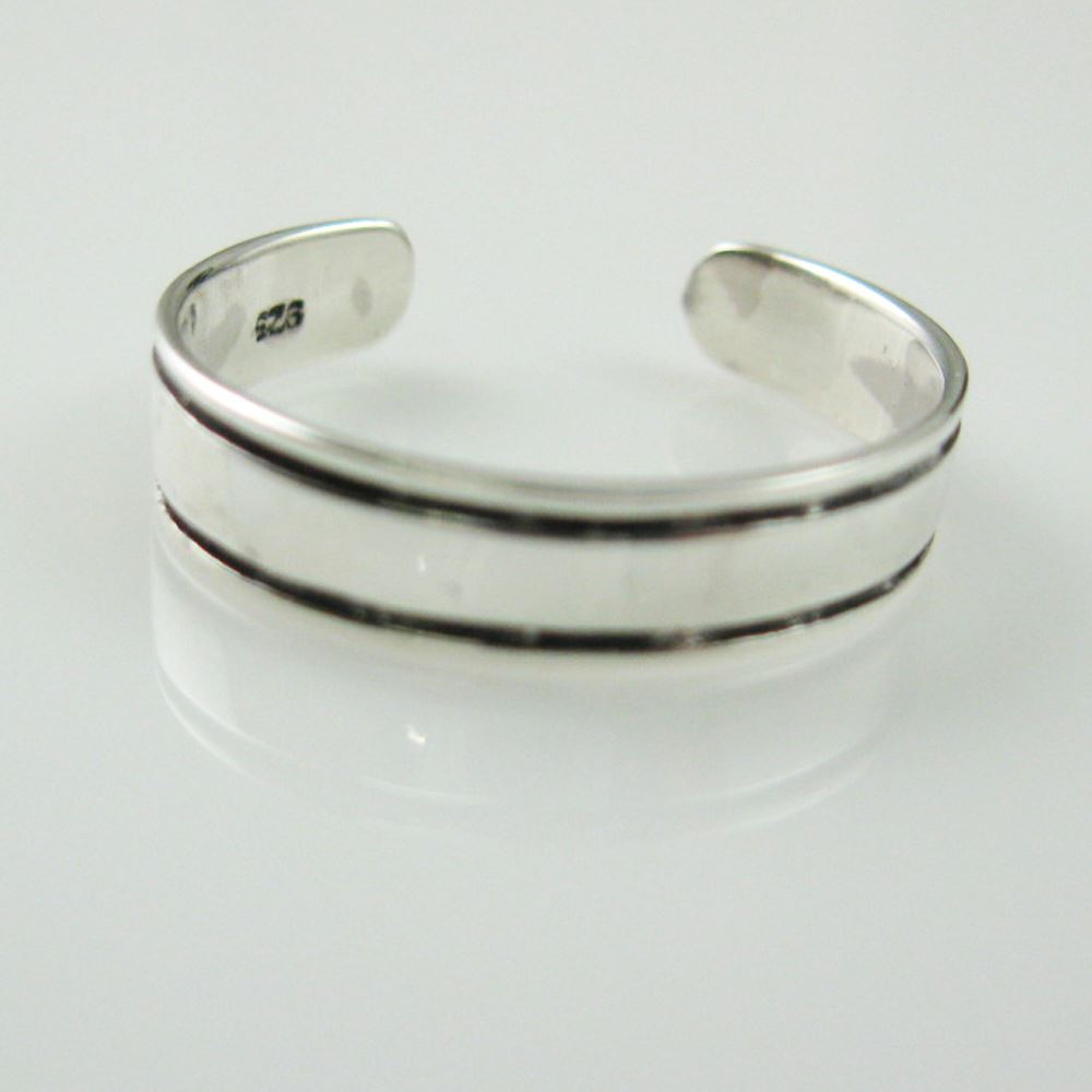 925 Sterling Silver Toe Ring - Classic Toe Ring -Adjustable Toe Ring