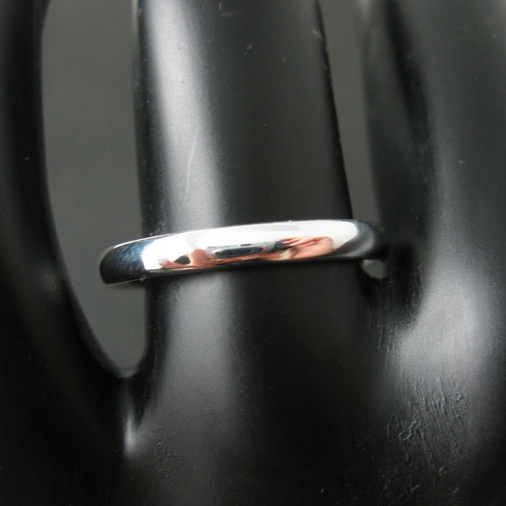 925 Sterling Silver Smooth Band Ring - Classic Ring - Classy Silver Ring - Adjustable Ring