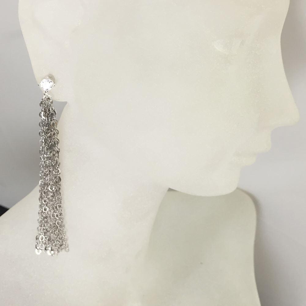 Sterling Silver Earrings - Dangle Earrings - Sterling Silver Sexy Earrings