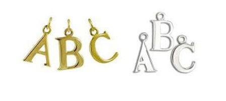 Alphabet Charms