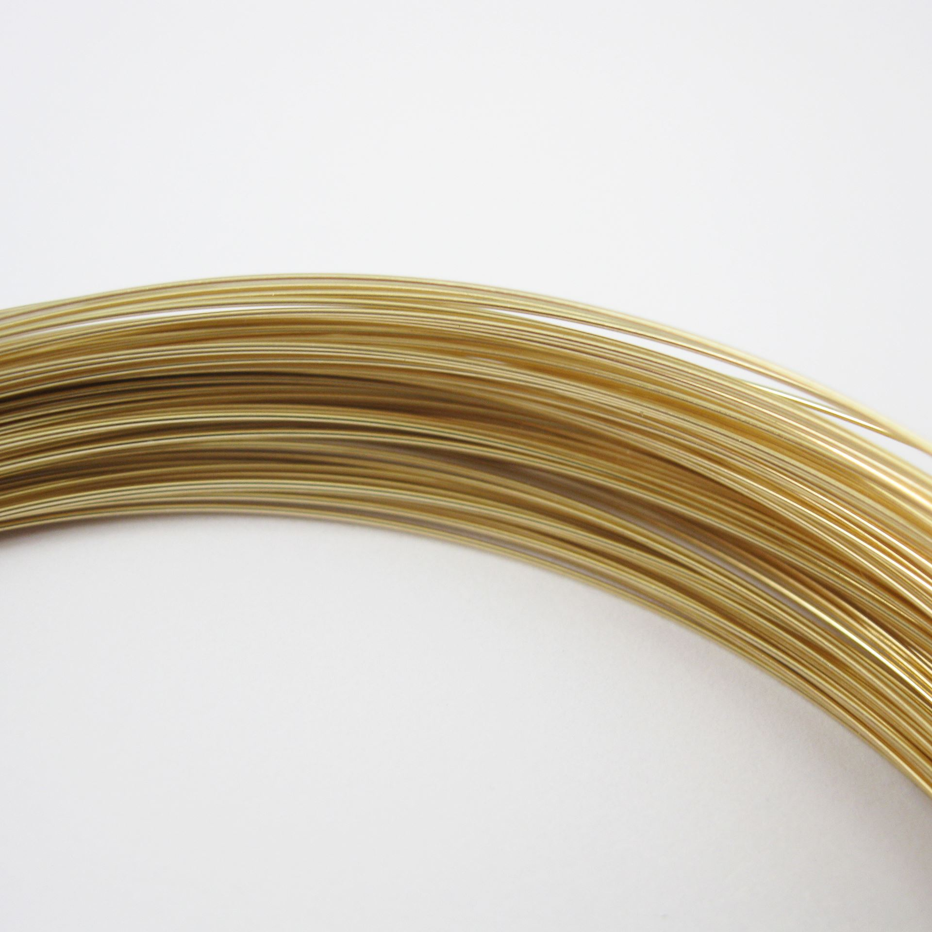 14K Gold Filled Wire - 26 ga -0.41mm (sold per 6 feet)