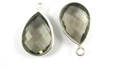 Silver Small Teardrop Pendant