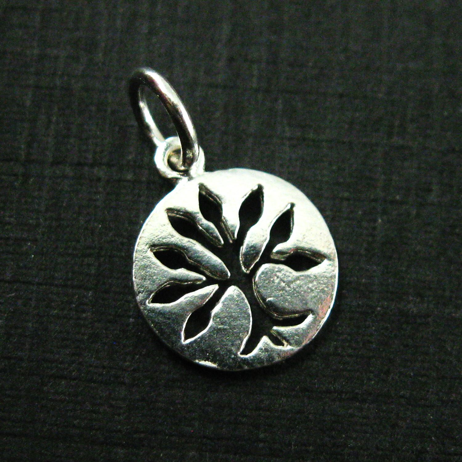 925 Sterling Silver Charm Tree Charm Tree Of Life Coin