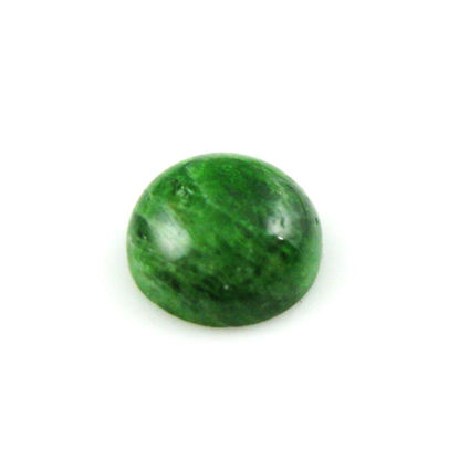 Loose Gemstones,Cabochon Gemstone-Chrome Diopside -Round Shape -10mm