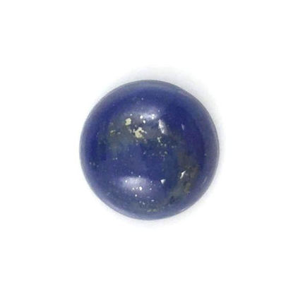 Loose Gemstones,Cabochon Gemstone-Lapis -Round Cabochon - 10mm