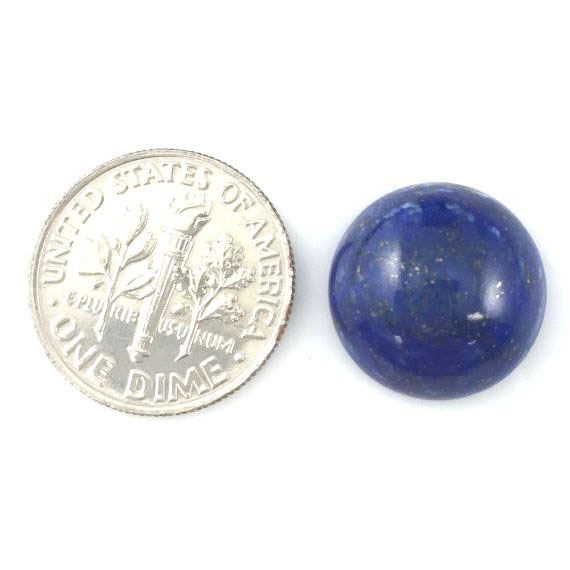 Loose Gemstones,Cabochon Gemstone-Lapis -Round Cabochon - 14mm