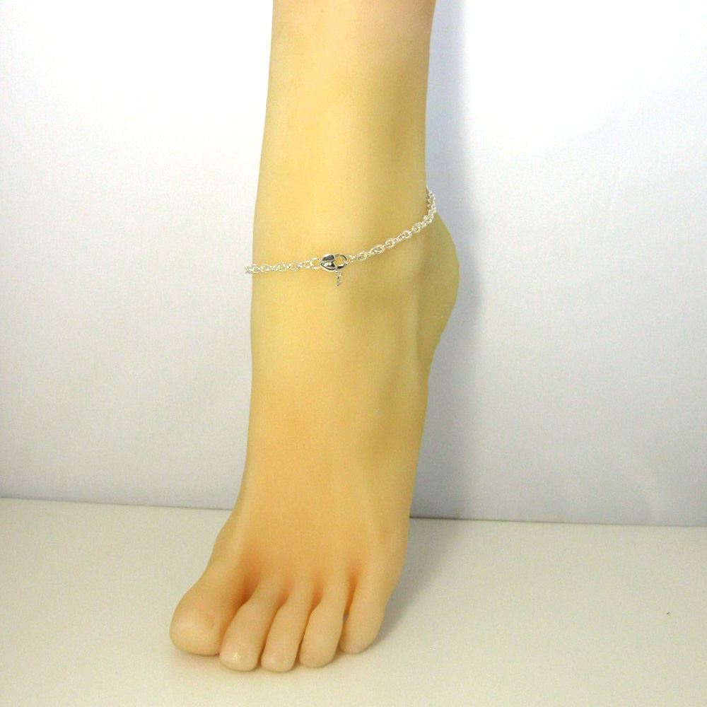 Sterling Silver Chain Necklace - Bracelet, Anklet - Heavy Chain Necklace - 5x4mm Cable Oval Strong Cable Chain- All Sizes