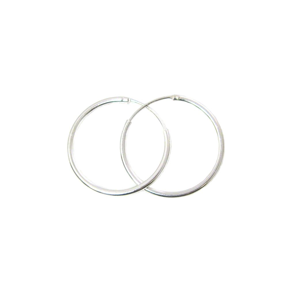 Sterling Silver Earrings- Strong Hoops- 25mm(sold per pair)
