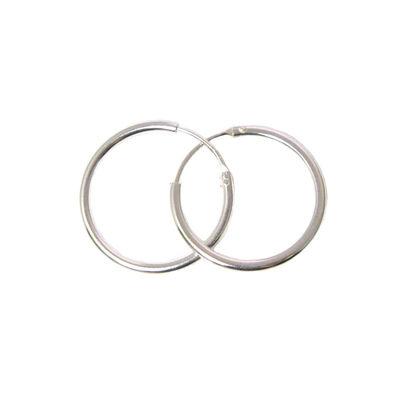 Sterling Silver Earrings- Strong Hoops- 20mm(sold per pair)