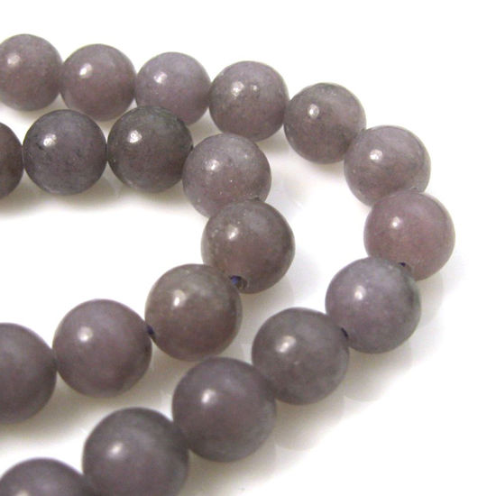 Lepidolite - Smooth Round Beads - 8mm (sold per strand)