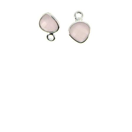 Silver Tiny Heart Pendants