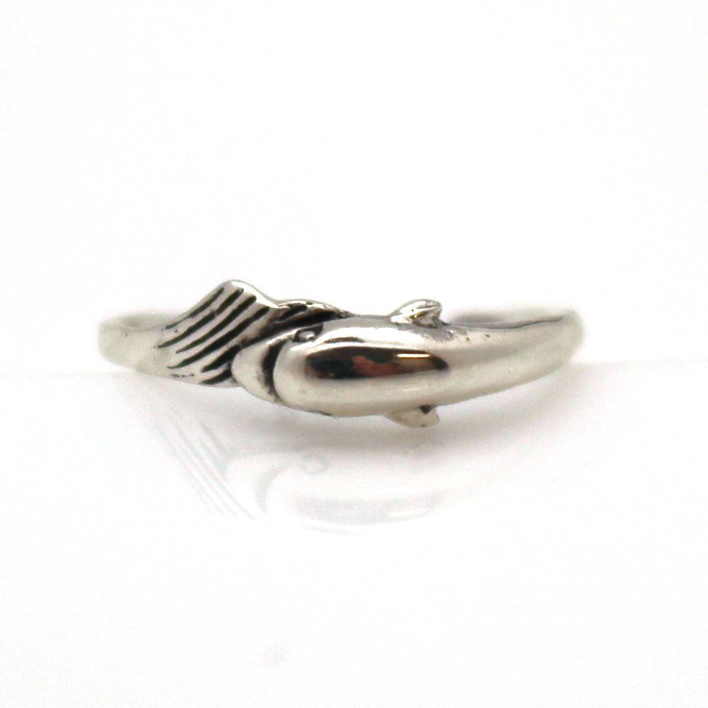 925 Sterling Silver Toe Ring - Fish Toe Ring-Adjustable Toe Ring-Swimmin Fish