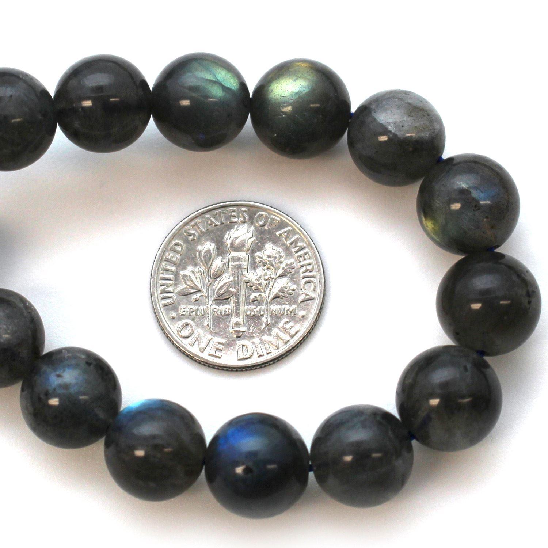 Round Labradorite Beads - 10mm (Sold Per Strand)