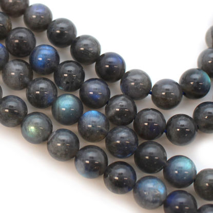 Round Labradorite Beads - 8mm (Sold Per Strand)
