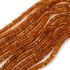 Gemstone beads - Citrine Faceted Rondelle - 3-3.5mm - 14 inches full strand