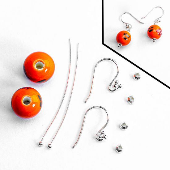 Fall Fishhook Dangle Earring DIY Kit