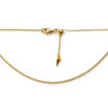 """Adjustable Chain Necklace -Small Rolor chain  22"""""""
